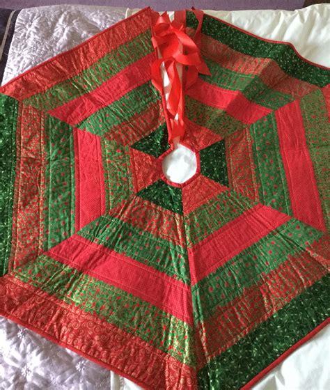 make a rag strip christmas tree tree 11 astonishing rag quilt tree skirt pattern rag quilt tree