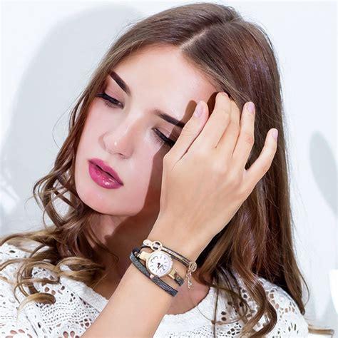Gelang Model 202 jam tangan wanita model gelang xr1297 black jakartanotebook