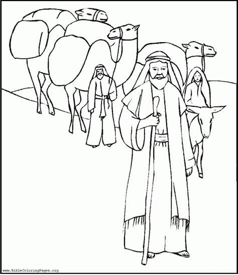 coloring page of abraham and lot abram and lot coloring pages online coloring pages
