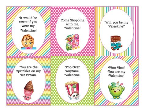Shopkins Birthday Card Printable Free