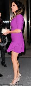 Dress as she left for the bravo upfronts in new york city on wednesday