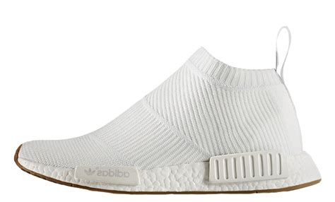 Adidas Nmd City Shock Putih adidas nmd city sock white gum the sole supplier