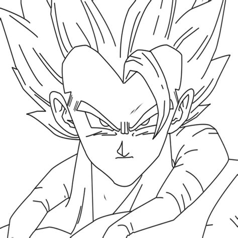 dragon ball z fusion coloring pages dbz fusion coloring pages