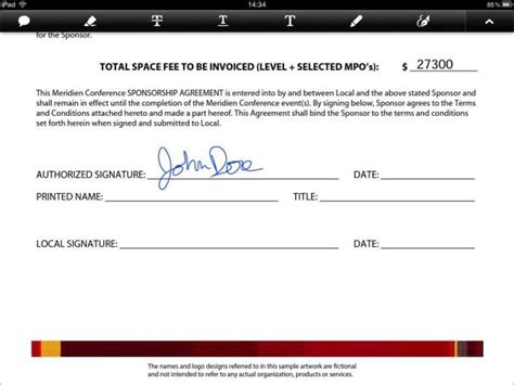 signed document template sign and send documents from your smartphone or pc pcworld