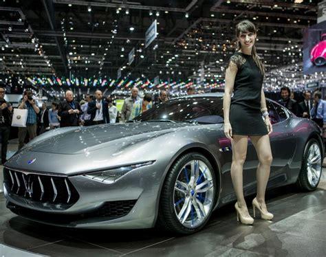 maserati woman maserati alfieri photos 2014 l a auto show auto show