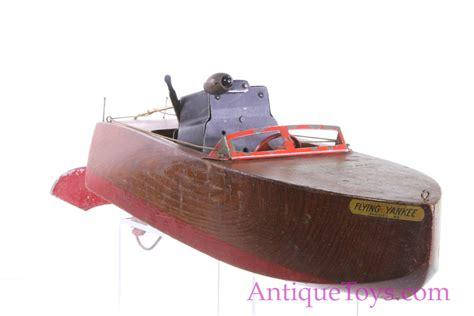 toy boat pond aj seaworthy wood boat flying yankee model 85 for sale