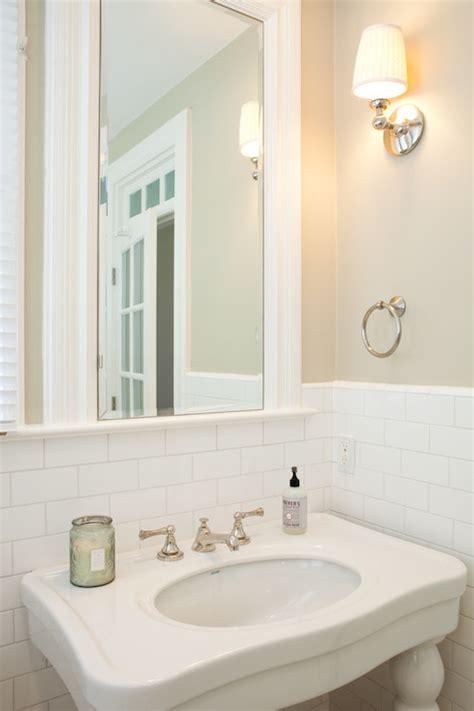 bathroom half tiled half painted half tiled walls design ideas