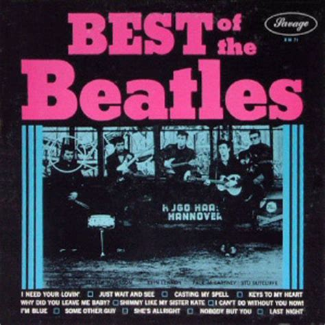 the beatles the best of the savage beatles