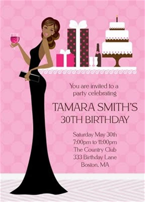 american themed party quotes bunny prints african american diva birthday invitation