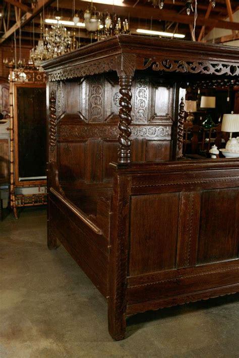 antique beds for sale antique carved oak tester bed for sale at 1stdibs