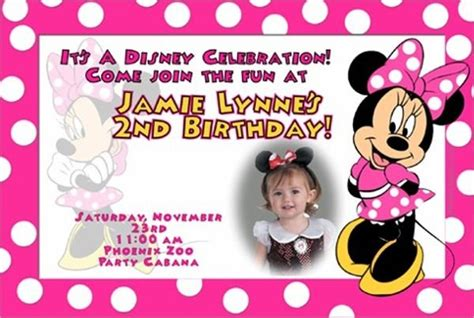 2nd Birthday Invitation Card Template Journalingsage Com 2nd Birthday Invitations Templates Free