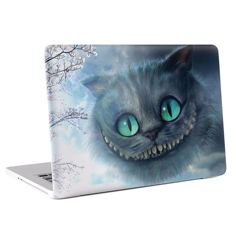 vinyl printing hshire alice in wonderland cheshire cat macbook skin decal