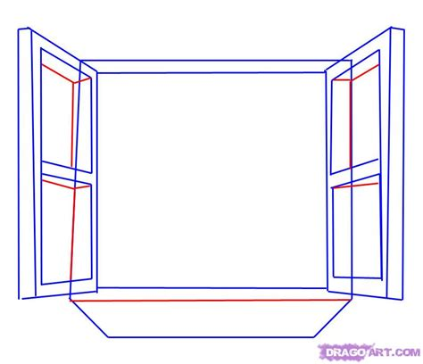 how to draw drapery step by step how to draw a window step by step stuff pop culture