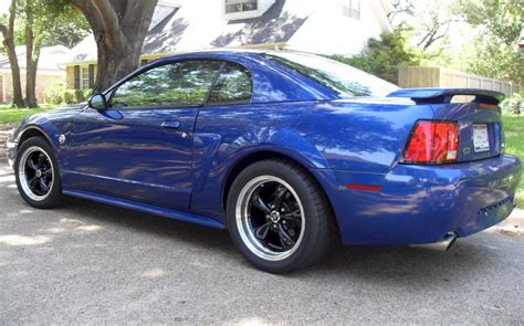 blue 2004 mustang sonic blue 2004 ford mustang gt coupe mustangattitude