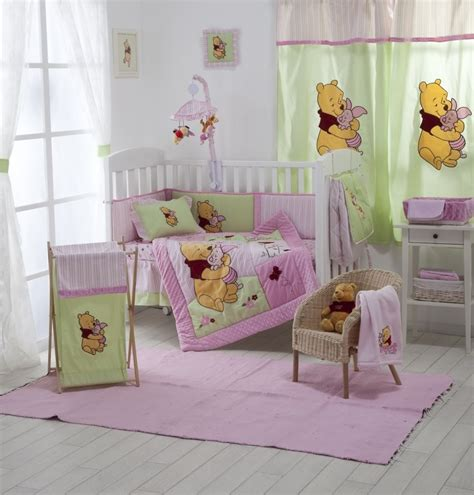 winnie the pooh bedroom sets baby girl crib bedding sets with theme winnie the pooh