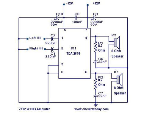tda7265 lifier circuit diagram hi fi lifier circuit