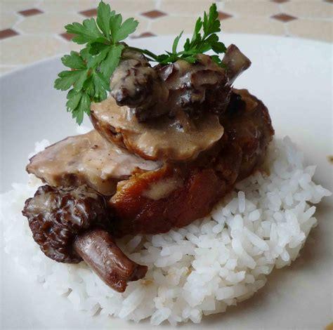 cuisine filet mignon filet mignon de porc aux morilles pour 4 personnes
