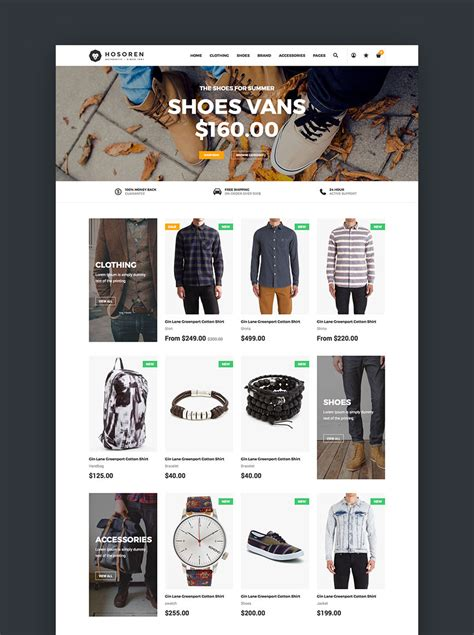 20 Best Shopify Themes With Beautiful Ecommerce Designs Shopify Homepage Template