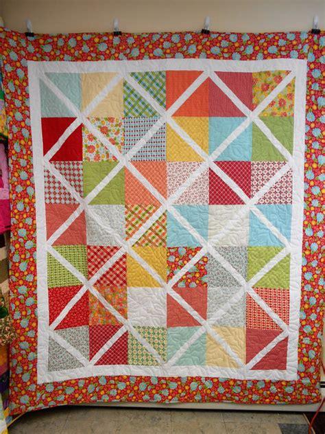 Handmade Quilt Sizes - handmade size quilt springtime lattice quilt 72 x