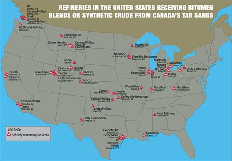texas refineries map institute index tar sands flows to south s refineries despite keystone xl rejection