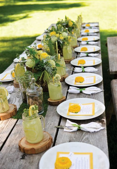 outdoor table setting 1000 ideas about outdoor table settings on pinterest