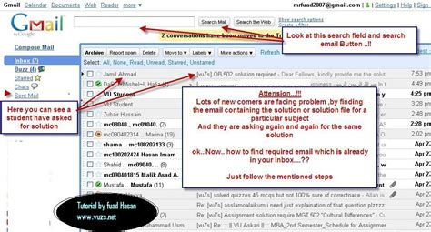 How To Search Email On How To Find An Email From Vuzs Mails