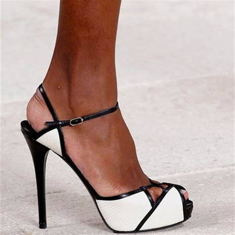 black and white high heel sandals black and white high heels shoes open toe gladiator