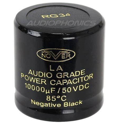 nover capacitor review nover capacitor low esr 10000 181 f 50v audiophonics