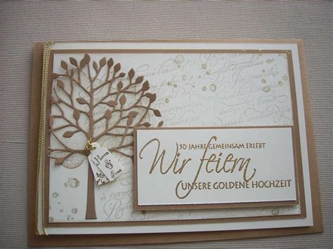 Einladung Hochzeit Selbst Gestalten by Einladungskarten Goldene Hochzeit Einladungskarten
