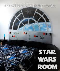 Star Wars Bedroom by The Creative Imperative Star Wars Bedroom Reveal