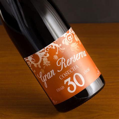 imagenes originales de vino botella de vino etiqueta 30 cumplea 241 os