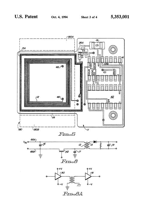 what is a planar inductor patent us5353001 hybrid integrated circuit planar transformer patents