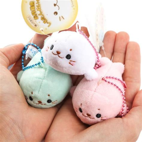 Tata Toys Small Ylq898 kawaii japan sirotan tata small seals plush pendant soft stuffed dolphin doll adorable