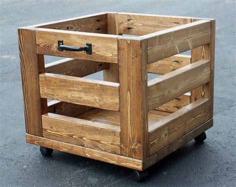 artsybuildinglady storage bin on wheels