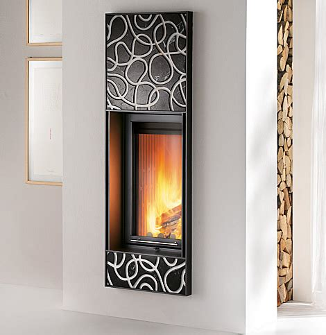 modern wood burning fireplaces by montegrappa designer homes