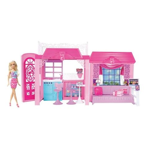 barbie glam vacation house with doll barbie pink tastic glam vacation house doll by unknown barbie collectibles