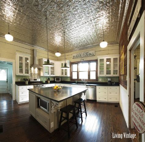 Kitchens With Tin Ceilings by 25 Best Ideas About Tin Ceiling Kitchen On