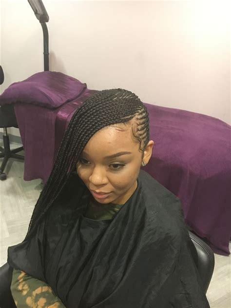Braid Hairstyles Book by Beyonce Lemonade Side Braids Book Jazzbraids Atlanta