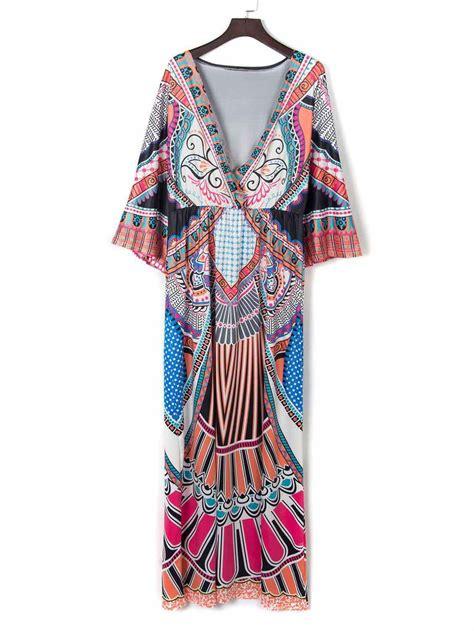 boho colors 2016 vestidos boho hippie vintage chic dress 2 colors