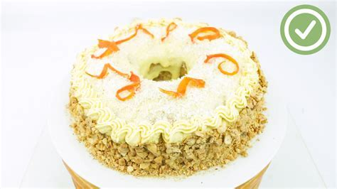 3 Ways to Decorate a Carrot Cake   wikiHow