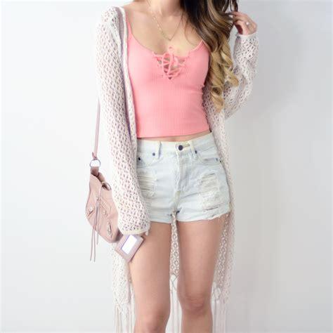Lace Up Cotton Skirt Mango connie lace up top blush mango rabbit style