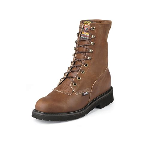 mens narrow work boots mens work boots leather steel toe 8 wk906 wide avail