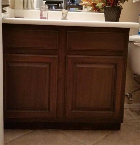 walnut color kitchen cabinets choosing the right dark gel stain java gel stain vs