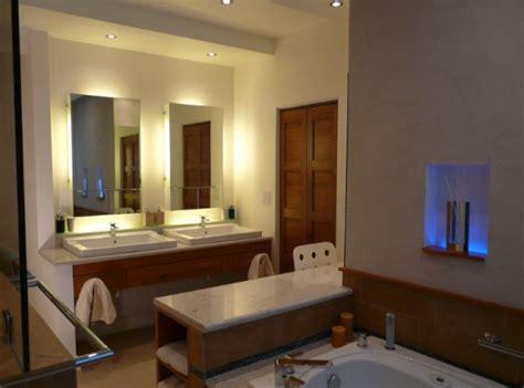 Bathroom Lighting Ideas Designs Designwalls by Using Led Lighting In Interior Home Designs