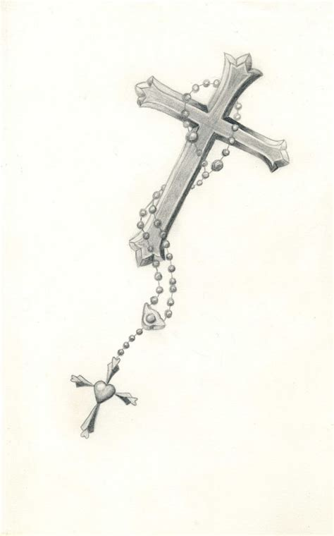 cross with rosary tattoo designs best 25 rosary bead ideas on roseary