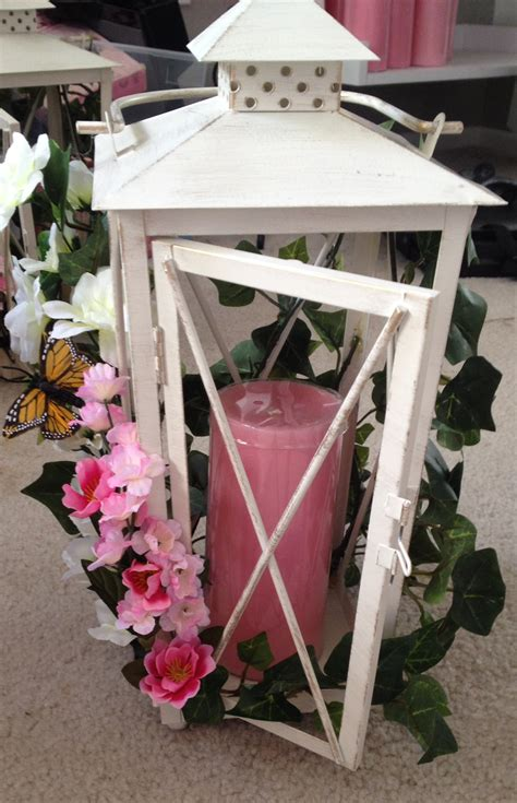 diy floral lantern centerpieces in progress weddingbee photo gallery