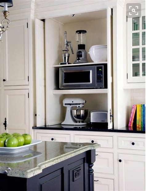 kitchen cabinet appliance garage love the appliance garage to keep appliances handy and