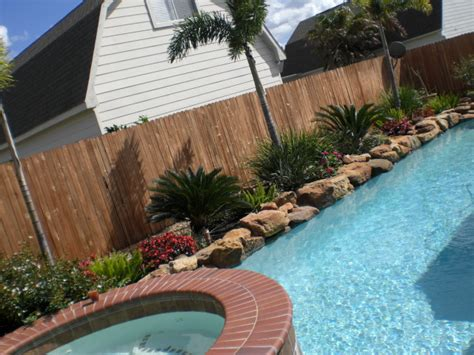 easy landscaping around pools pictures to pin on