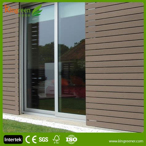 Composite Wainscoting Panels Plastic Exterior Wall Decorative Panel Resistant Wood