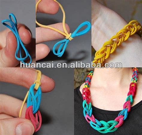 Small Rubber Band Bracelets by Rainbow Loom Patterns Rainbow Loom Rubber Band Bracelets